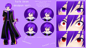 MMD - PD Taito Shion -deadpan edit- by deadpan-happiness