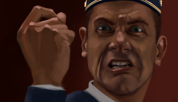 Ted The Bellhop Study by ThijsRozema