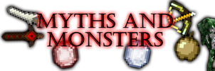 Minecraft Banner - Myths and Monsters