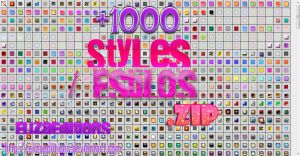 Pack de Styles .zip by ElizaEdiitions