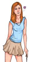 Hot Ginny Weasley Colored by ErikRoger
