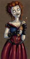 Mrs. Lovett by gryffindor-girl