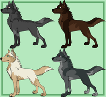 Auctions-Starting 5 pts CLOSED by GreyAdoptables