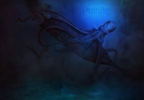 Seamonster of the deep by pranile