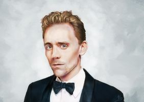 Tom Hiddleston by Doodleholic