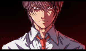 light yagami by sAmA15