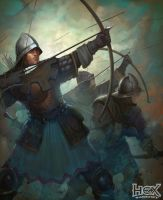 Volley of Arrows by Cynic-pavel