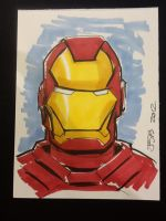 Iron Man by sirandal