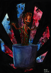 Baby Groot by Yami19