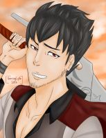 Qrow Branwen by VeeringCycle