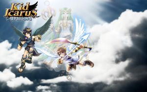 Kid Icarus: Uprising wallpaper by StellaTheCat12