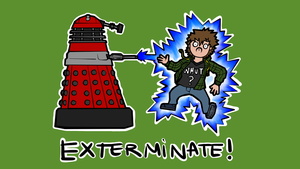 EX-TER-MI-NATE! (wallpaper) by gamertjecool