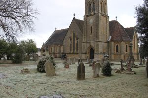 Frosty Morning At Church by rogerdurling
