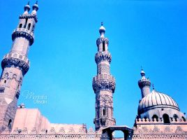 Al-Azhar Mosque :) by Olwant