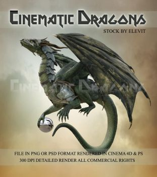 Cinematic Dragon 1 by Elevit-Stock