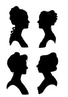 Roommate Silhouettes by savivi