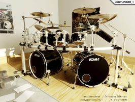 Dream Drumkit by artist-tortured