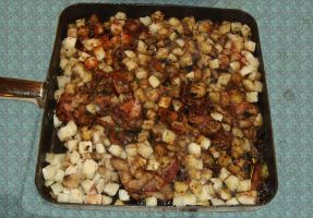 Beltaine Bacon and Onion Hash by Windthin