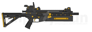 PMG All You Need Is Kill 20mm Assault Rifle by JettRyu