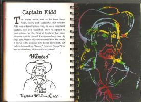 Captain Kidd Scratch and Sketc by CallThePatentOffice