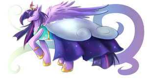 Alicorn Sparkle by MystykNess