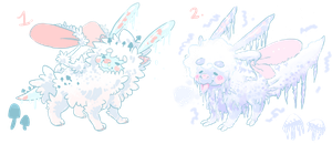 Frost Faeshroom adopts: CLOSED by Gheistly