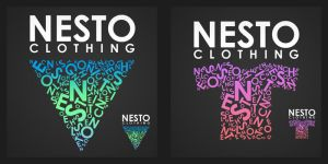 logo NESTO clothing by RampoucH