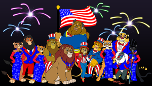 LKHFF Happy 4th of July by BennytheBeast