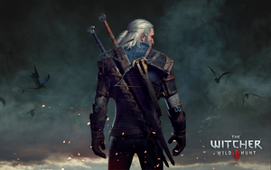 Geralt wallpaper by Scratcherpen