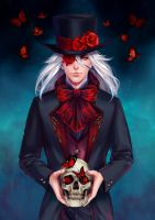 the rose reaper by antique-teacup