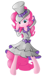 Pinkie Pie - Elegant Pone ( Vectorized ) by PonyHD