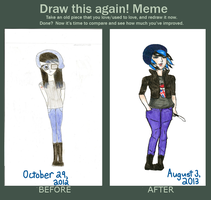 Improvement Meme (Violet Edition!) by Sunnimi
