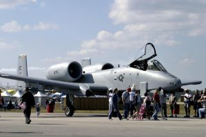 A-10 Thunderbolt II by AirAndSpaceStock
