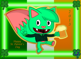 Saint Patrick's Day by Baron-Redbeaver