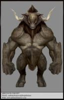 Minotaur by Ubermonster