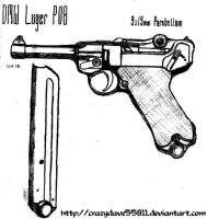 DMW Luger P08 by CrazyDave55811