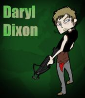 Daryl Dixon Doodle by RoxiMox