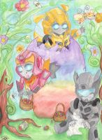 Sparklings Easter Hunt by Bumblesz