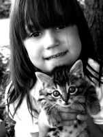 Kimmy and her Kitty by jeffreyverity
