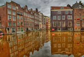Amsterdam Canals by DanielleMiner