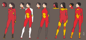 Spider-Woman redesign by deu-O