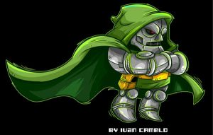 Dr. Doom by vancamelot