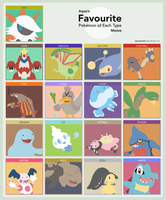 Favorite Pokemon Meme by Galbert