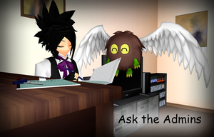 Ask the Admins by AskMMDYugi