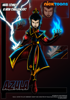 Nicktoons - Azula by NewEraOutlaw