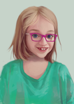 Commissioned portrait by TychyTamara
