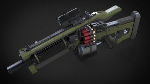 Komodo Shotgun 3 by Aberiu