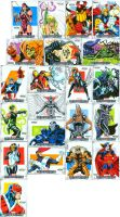 Marvel Beginnings sketch cards by ScottCohn