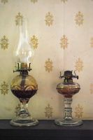 oil lamps by LucieG-Stock