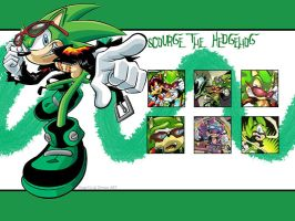 Scourge the Hedgehog by Usagi-CRI